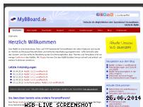 Ranking Webseite mybboard.de
