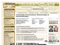 Informationen zur Webseite mymagdeburg.de