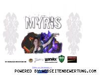 Ranking Webseite myris-music.de