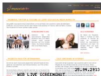 Ranking Webseite mysocialclix.de