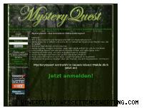 Ranking Webseite mysteryquest.de