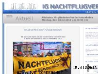 Ranking Webseite nachtflugverbot-leipzig.de