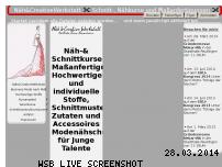 Ranking Webseite naeh-creativewerkstatt.de