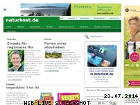 Informationen zur Webseite naturkost.de