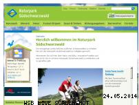 Informationen zur Webseite naturpark-suedschwarzwald.de