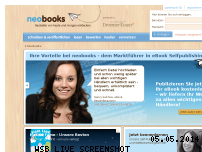 Ranking Webseite neobooks.com