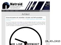 Ranking Webseite netroid.de