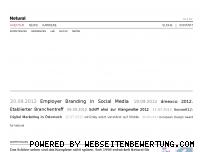 Ranking Webseite netural.com