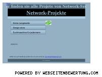 Ranking Webseite network-system.net