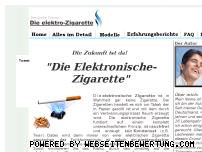 Informationen zur Webseite neue-elektronische-zigarette.de