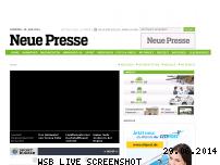 Ranking Webseite neuepresse.de