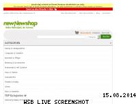 Ranking Webseite newnewshop.ch