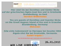 Ranking Webseite nickes.de