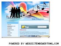 Ranking Webseite nono-produktions.de.to