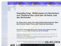 Informationen zur Webseite nordostthailand.de