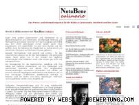 Ranking Webseite notabene-culinario.com