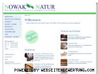 Ranking Webseite nowak-natur.de