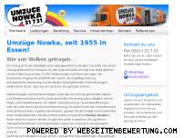 Informationen zur Webseite nowka.de