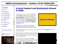 Informationen zur Webseite nrw-schrottankauf.de