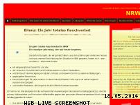 Informationen zur Webseite nrwgeniesst.de
