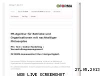 Informationen zur Webseite oeforma.de