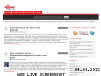 Ranking Webseite offenesblog.de