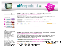Ranking Webseite office-podcast.de