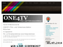 Informationen zur Webseite one4tv.de