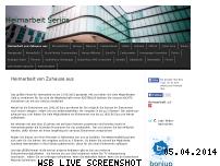 Ranking Webseite onlineheimarbeit.jimdo.com