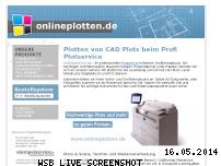 Informationen zur Webseite onlineplotten.de