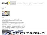 Ranking Webseite onyx-composites.de