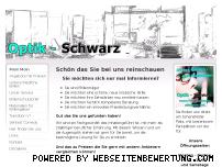 Ranking Webseite optik-schwarz.de