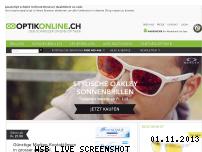 Ranking Webseite optikonline.ch