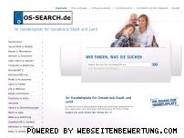 Ranking Webseite os-search.de