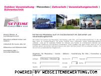 Informationen zur Webseite outdoor-veranstaltung.de