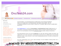 Ranking Webseite ovutest24.com