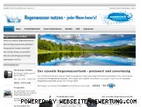 Ranking Webseite ozeanis-regenwassertank.de