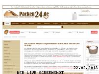 Informationen zur Webseite packen24.de