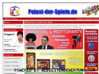 Ranking Webseite palast-der-spiele.de