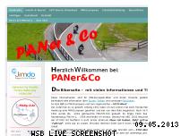 Ranking Webseite paner-co.jimdo.com