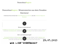 Ranking Webseite paracelsusregion.at