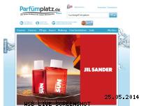 Ranking Webseite parfuemplatz.de