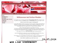 Informationen zur Webseite parfum-mueller.de