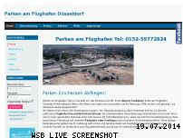 Ranking Webseite parkdiscount.de