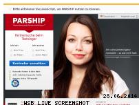 Ranking Webseite parship.de