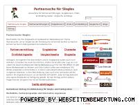 Ranking Webseite partnersuche-singles.de