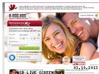 Ranking Webseite partnersuche.de