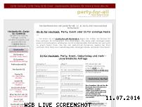 Informationen zur Webseite party-for-all.de