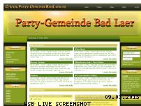 Ranking Webseite party-gemeindebadlaer.de