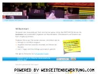Ranking Webseite partymat.de